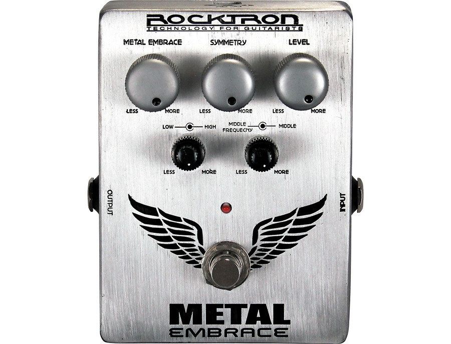 Rocktron Metal Embrace Distortion Guitar Effects Pedal