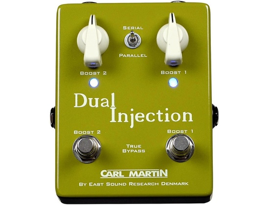 Carl Martin Dual Injection Overdrive Guitar Pedal