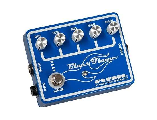 Plush Blues Flame Overdrive Guitar Effects Pedal