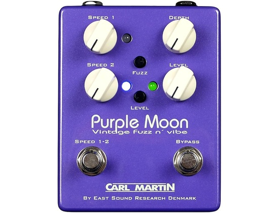 Carl Martin Purple Moon Fuzz Guitar Pedal