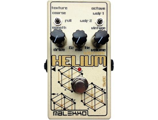 Malekko Heavy Industry Helium Mkii Distortion Guitar Effects Pedal