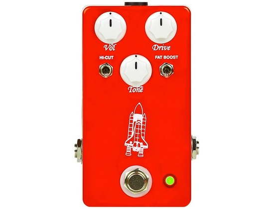 Throne Room Pedals Atlantis Overdrive Guitar Effects Pedal
