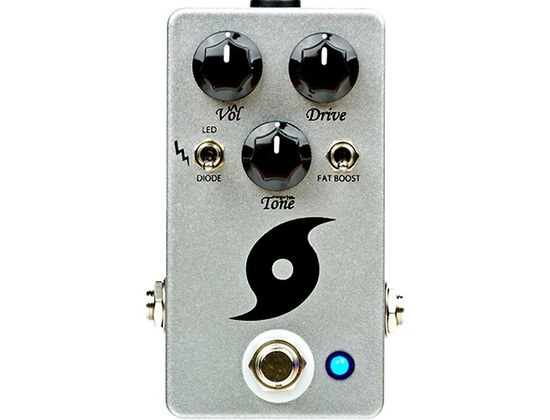 Throne Room Pedals Hurricane Overdrive Guitar Effects Pedal