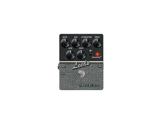 Tech 21 SansAmp Character Series Leeds Distortion Guitar Effects Pedal