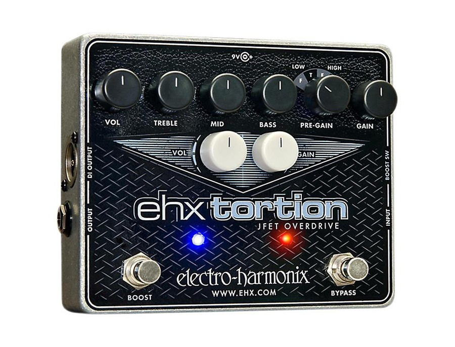 Electro-Harmonix Ehxtortion Jfet Overdrive Guitar Effects Pedal