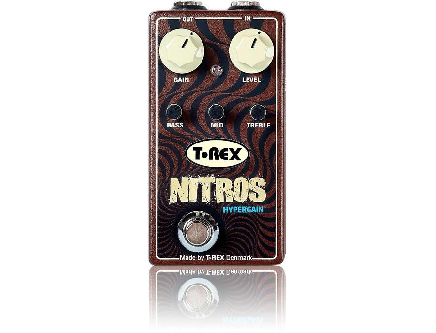 T-Rex Engineering Nitros Hypergain Distortion Guitar Effects Pedal