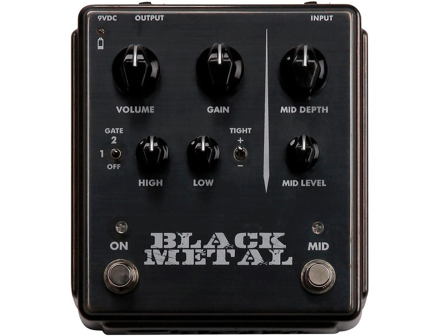 Egnater Black Metal Mid Guitar Effects Pedal