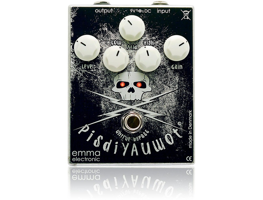 Emma Electronic Pisdiyauwot Metal Distortion Guitar Effects Pedal