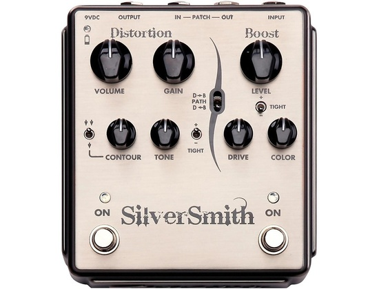 Egnater Silversmith Distortion/Boost Guitar Effects Pedal