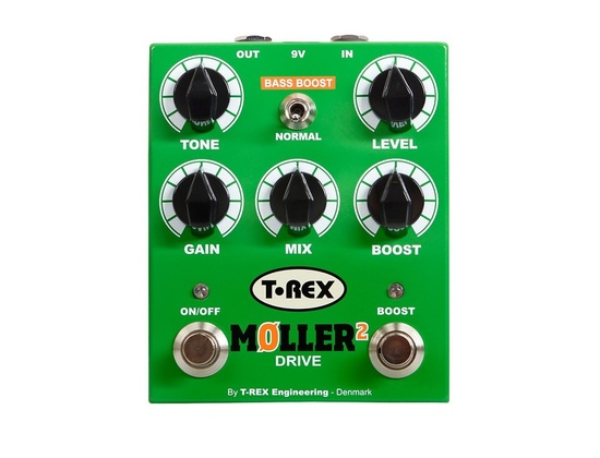T-Rex Engineering Moller 2 Overdrive Pedal With Clean Boost