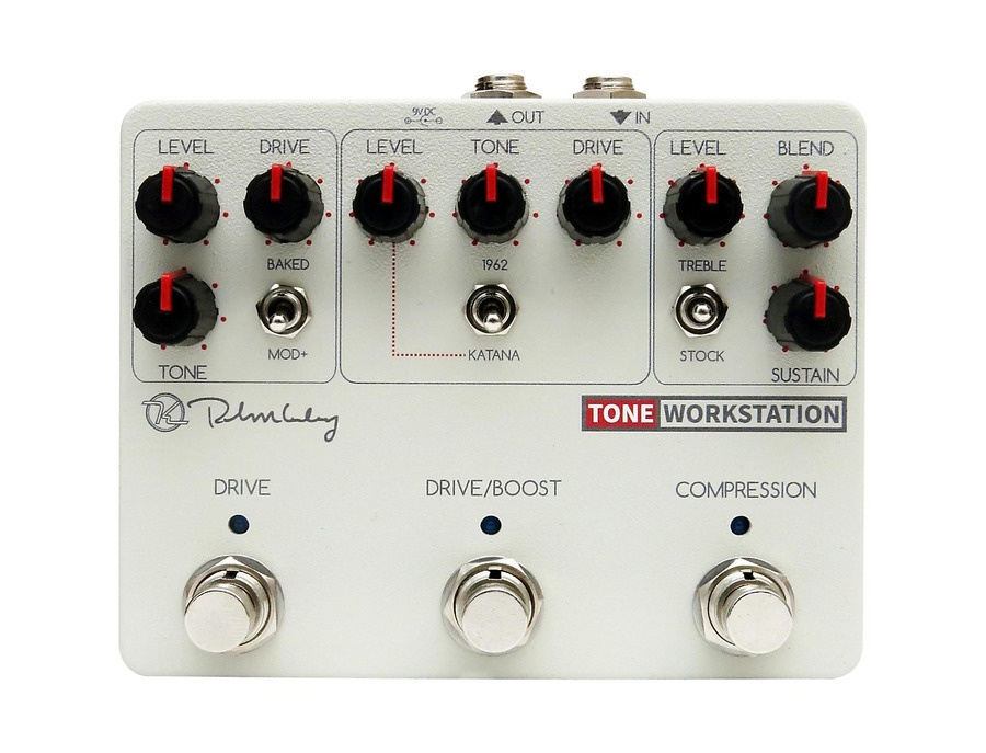 Keeley tone workstation overdrive guitar pedal xl