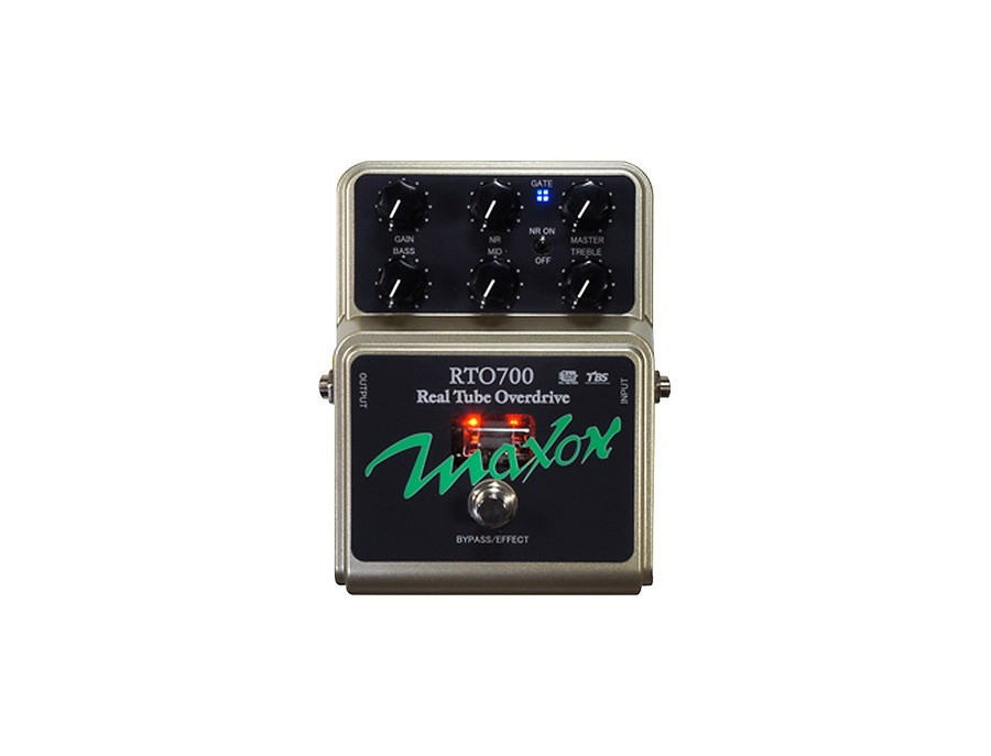 Maxon RTO700 Real Tube Overdrive Guitar Effects Pedal