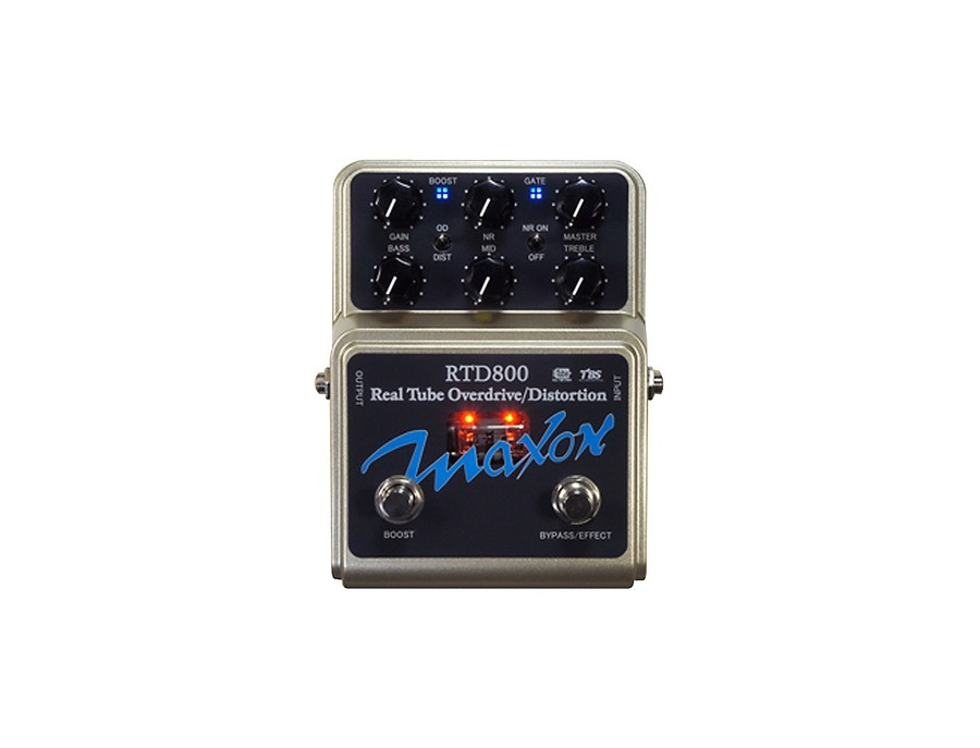 maxon rtd800 real tube overdrive and distortion guitar effects pedal reviews prices equipboard. Black Bedroom Furniture Sets. Home Design Ideas