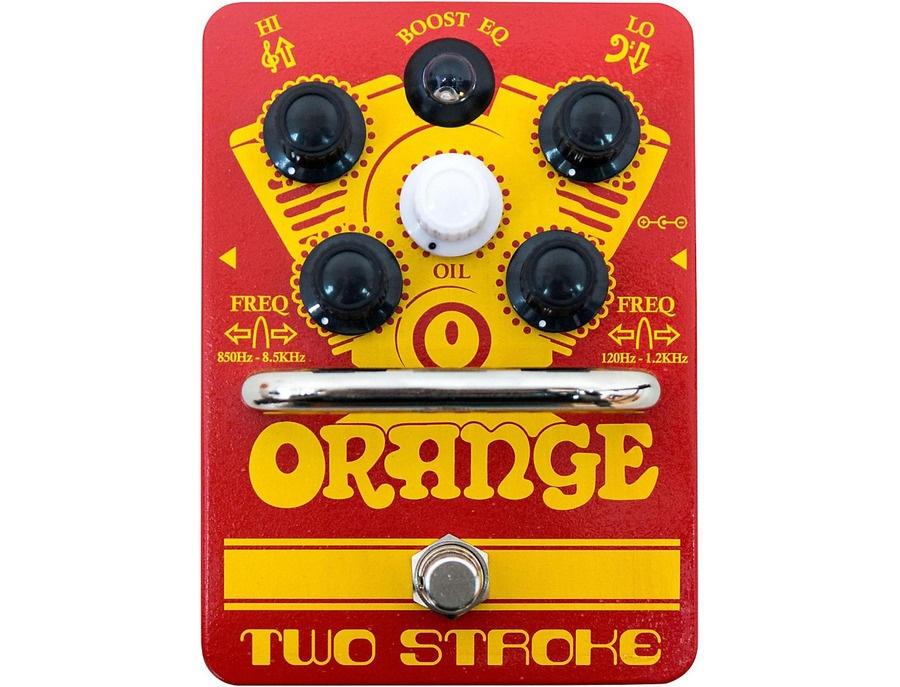 Orange amplifiers two stroke boost eq xl