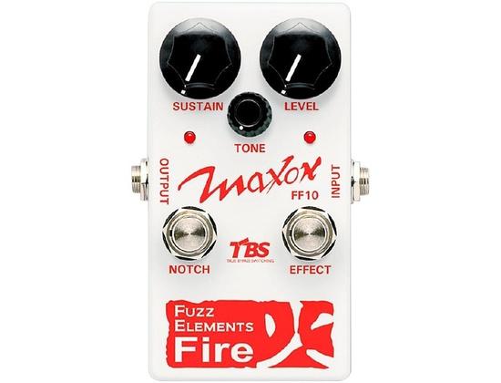Maxon Fuzz Elements Fire Guitar Fuzz Pedal