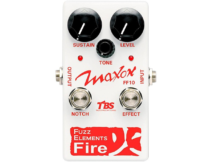 Maxon Fuzz Elements Fire Guitar Fuzz Pedal