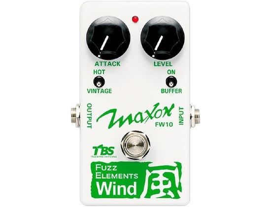 Maxon Fuzz Elements Wind Guitar Fuzz Pedal