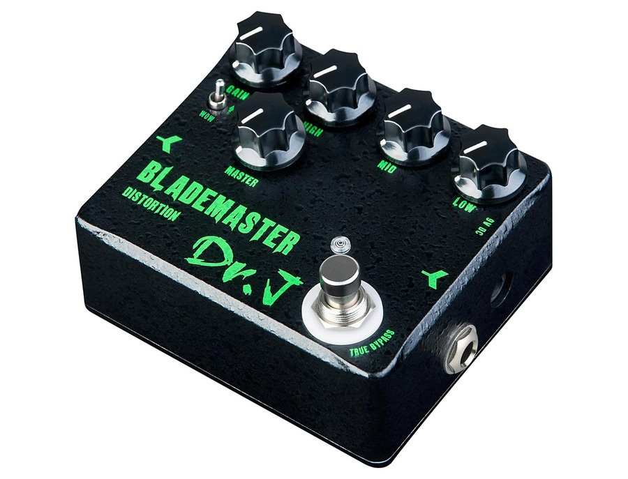 Dr. J Pedals Blademaster Distortion Effects Pedal