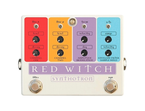 Red Witch Synthotron Guitar Effects Pedal