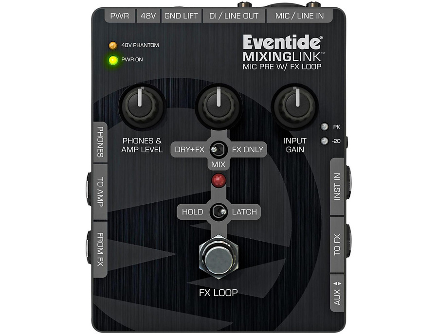 Eventide mixinglink guitar effects pedals mic pre with fx loop xl
