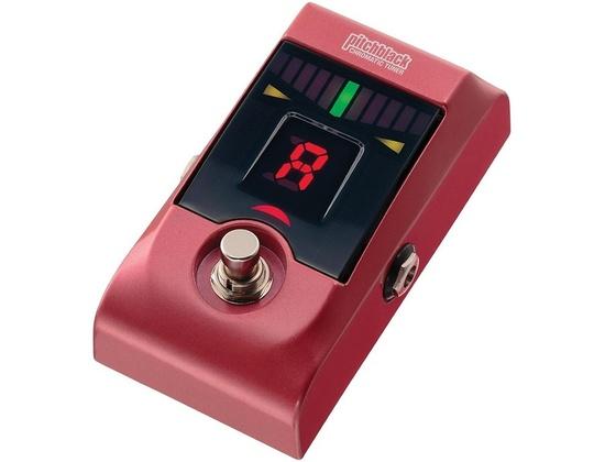 Korg Pitchblack Chromatic Pedal Tuner Metallic Red