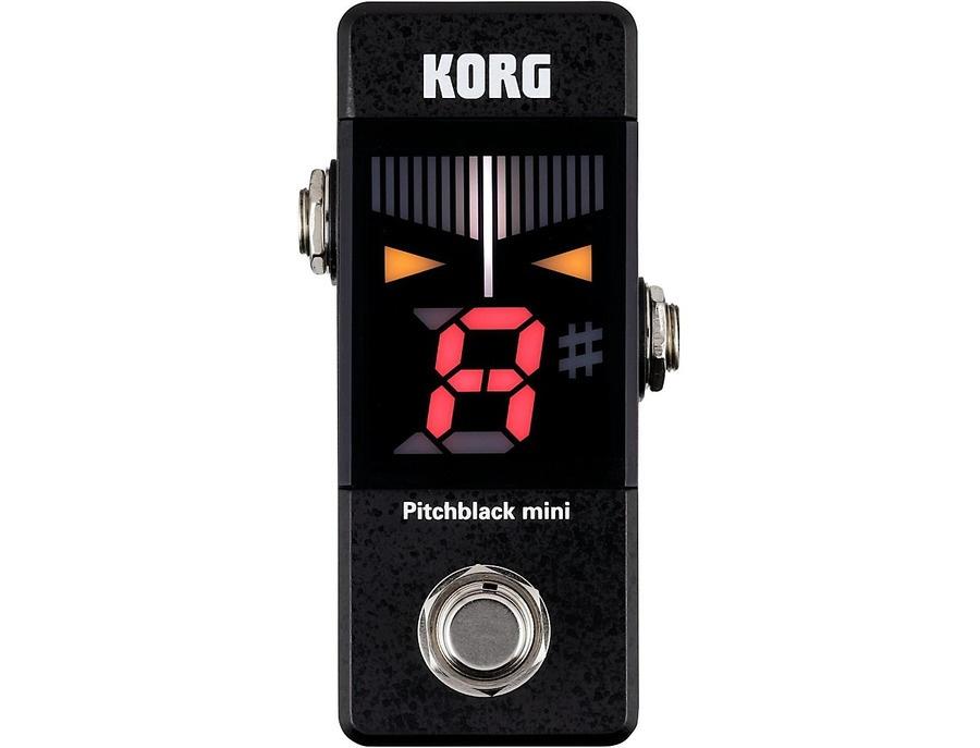 Korg pitchblack mini pedal tuner xl