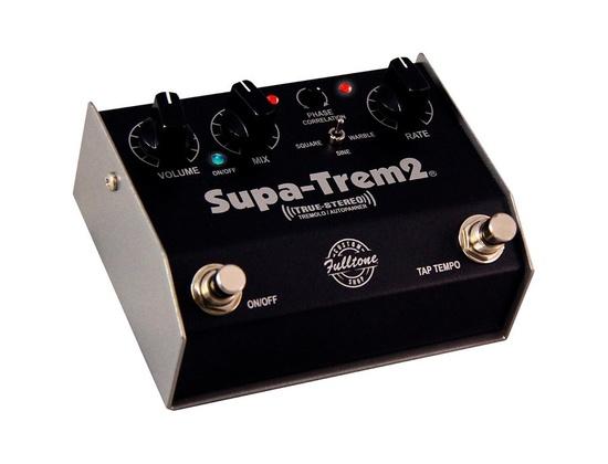 Fulltone Custom Shop Cs Supa-Trem2 Stereo Tremolo W/Tap Tempo Guitar Effects Pedal Black
