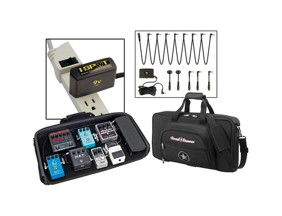 Road Runner Pedalboard With Bag And Visual Sound 1 Spot Combo Pack