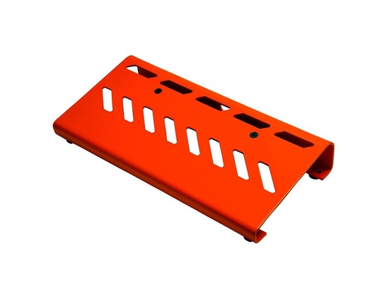 Gator Aluminum Pedal Board - Small with Bag Orange