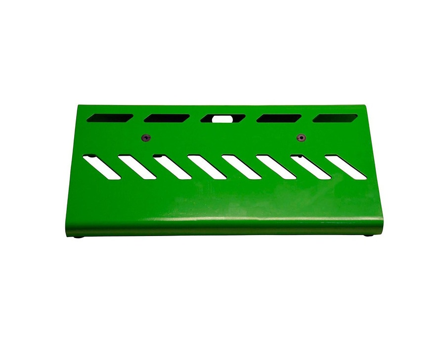 Gator Aluminum Pedal Board - Small with Bag Green