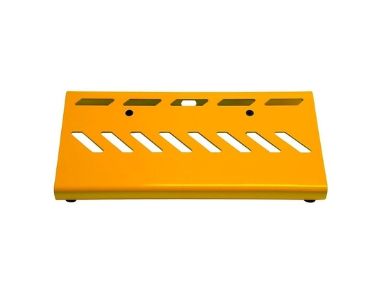 Gator Aluminum Pedal Board - Small with Bag Yellow