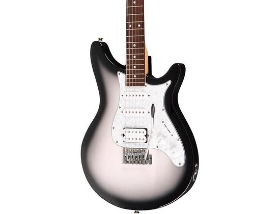 Rogue Rocketeer Deluxe Electric guitar Gray Burst