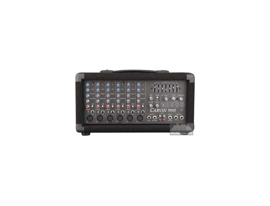Carvin pa 620 powered mixer xl