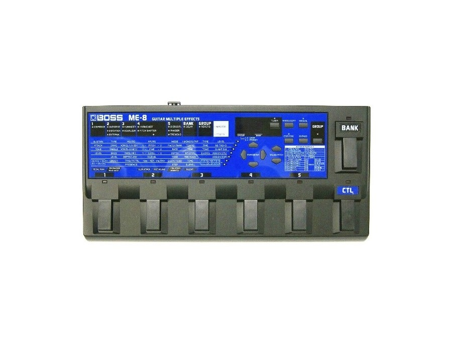 Boss ME-8 Guitar Multiple Effects