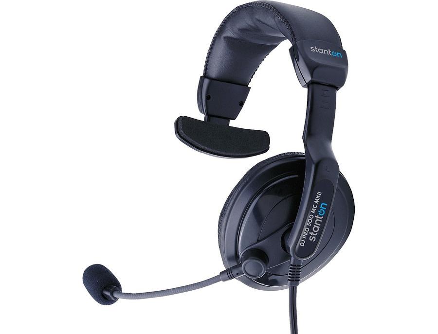 Stanton Dj Pro 500 Mc Mk Ii Single-Side Headphone With Mic