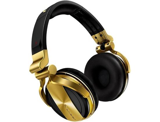 Pioneer Hdj-1500 Dj Headphones Gold