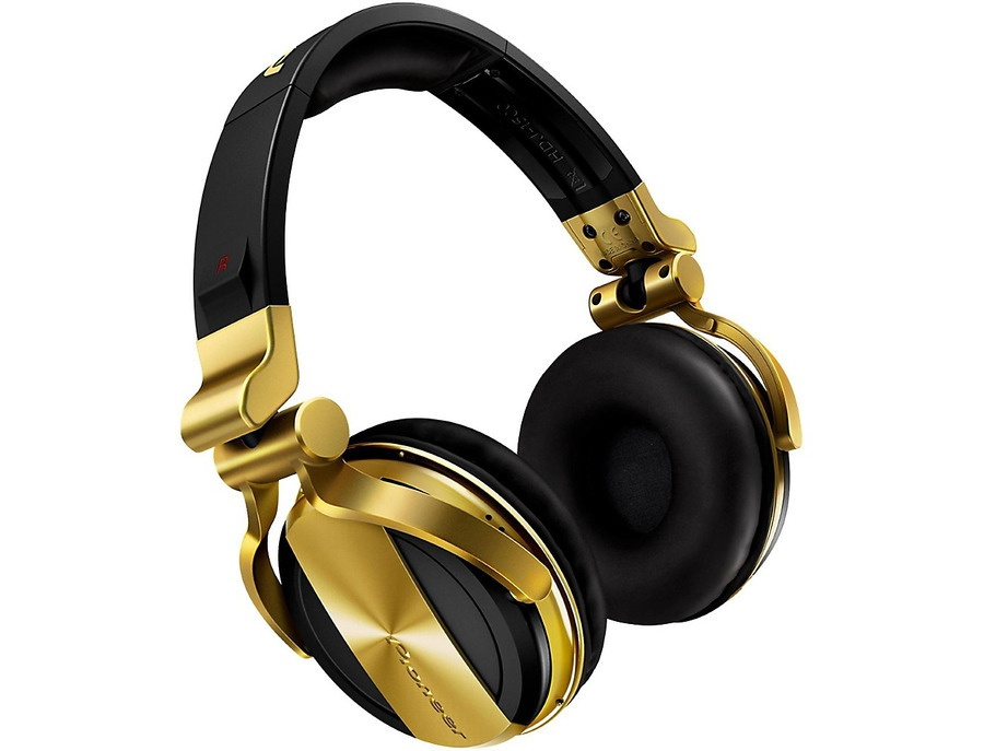 Pioneer Hdj-1500 Dj Headphones Gold