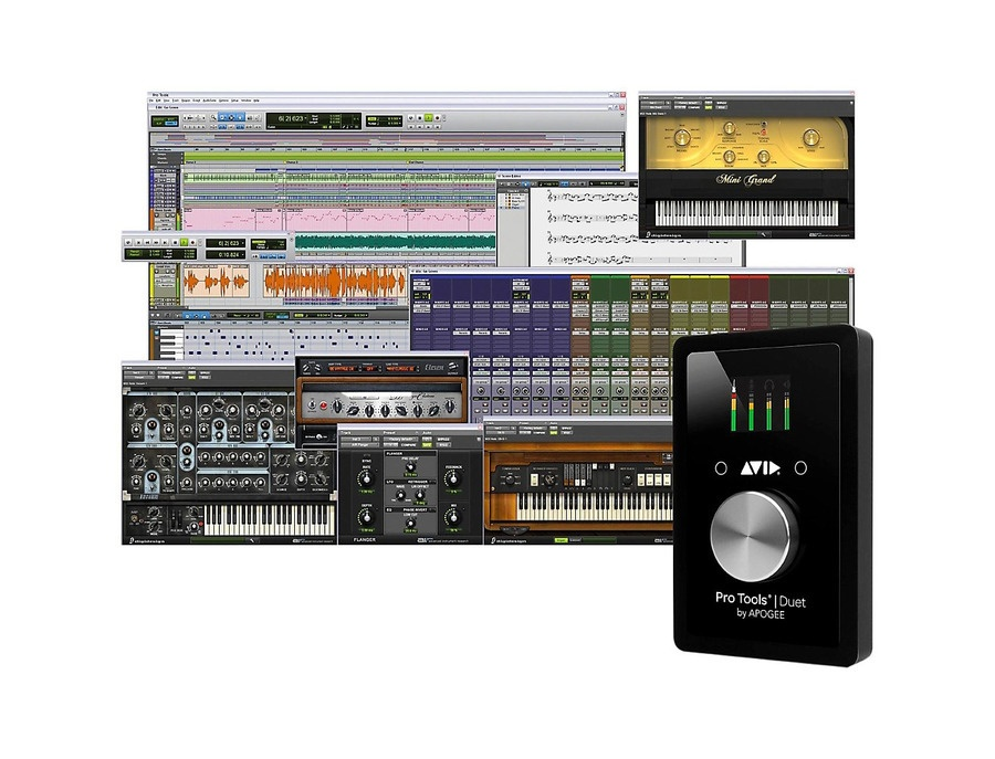 Avid Pro Tools   Duet With 1-Year Pro Tools Subscription