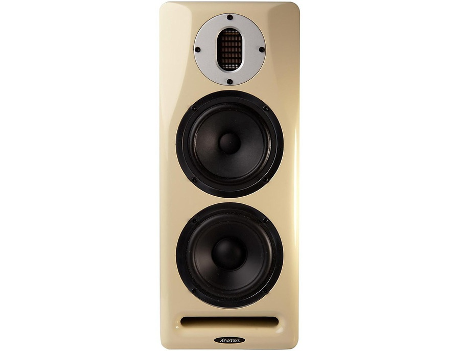 Avantone Mix Tower Active Dual Mode 3-Way Monitor (Pair) Cream