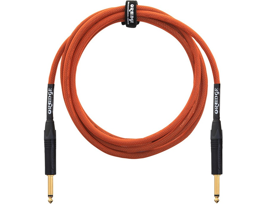 Orange Amplifiers 1/4 Inch Instrument Cable Orange 10 ft.