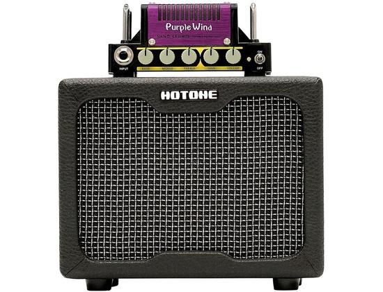 Hotone Effects Purple Wind Guitar Mini-Stack