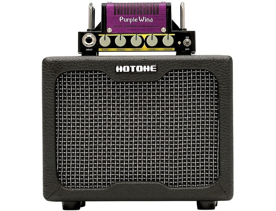 Hotone Effects Purple Wind Guitar Mini-Stack