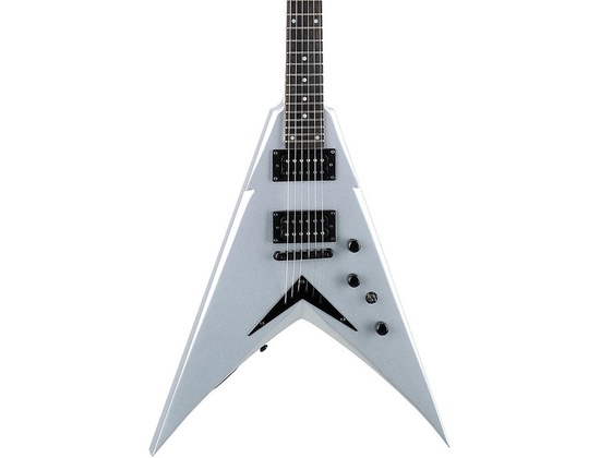 Dean Dave Mustaine Vmntx Electric Guitar Metallic Silver