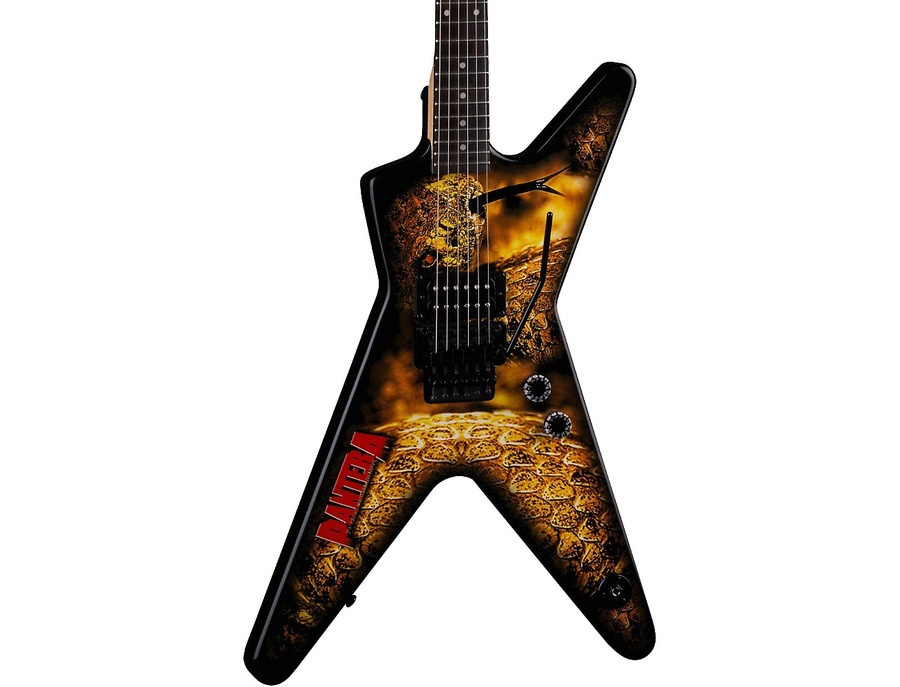 Dean Dimebag Pantera Southern Trendkill Ml Electric Guitar The Great Southern Trendkill Graphic