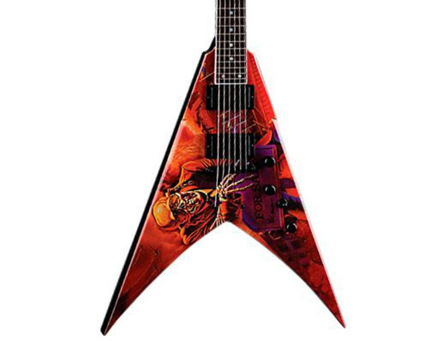 Dean Dave Mustaine VMNT Peace Sells Electric Guitar Peace Sells