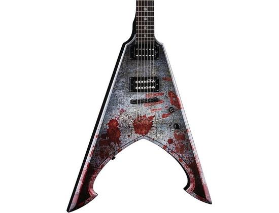Dean Michael Amott Tyrant Signature Electric Guitar Battle Axe Custom Graphic