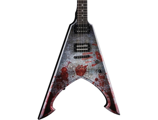 Dean Michael Amott Tyrant Signature Electric Guitar Battle Axe Custom Graphic