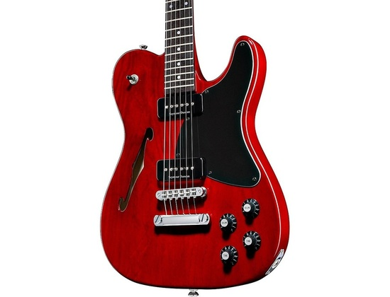 Fender Jim Adkins Ja-90 Telecaster Electric Guitar Transparent Crimson