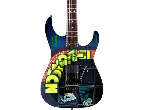 ESP LTD Kirk Hammett Nosferatu Graphic Electric Guitar Nosferatu Graphic