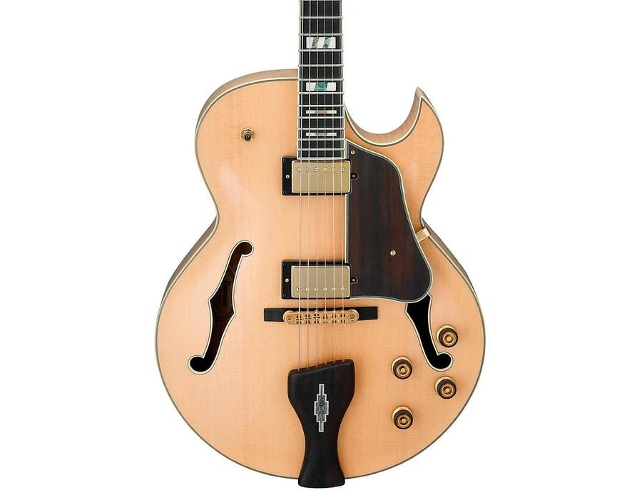 Ibanez LGB30 George Benson Signature Hollow Electric Guitar Natural